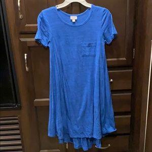 Blue lularoe Carly